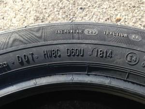 Dot pneumatici sul fianco
