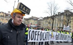 Taxi Torino contro uber