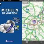 Michelin app navigation