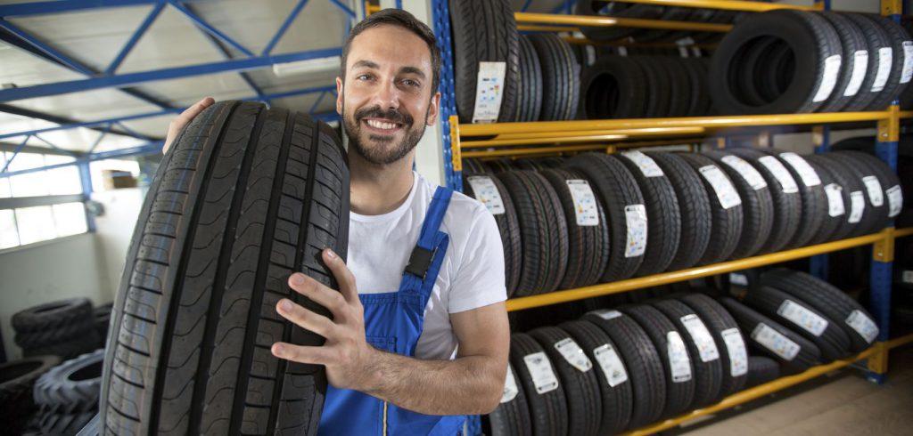 montaggio sicuro per pneumatici acquistati online