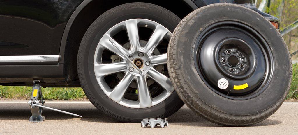 ruotino di scorta: cosa controllare prima di mettersi alla guida
