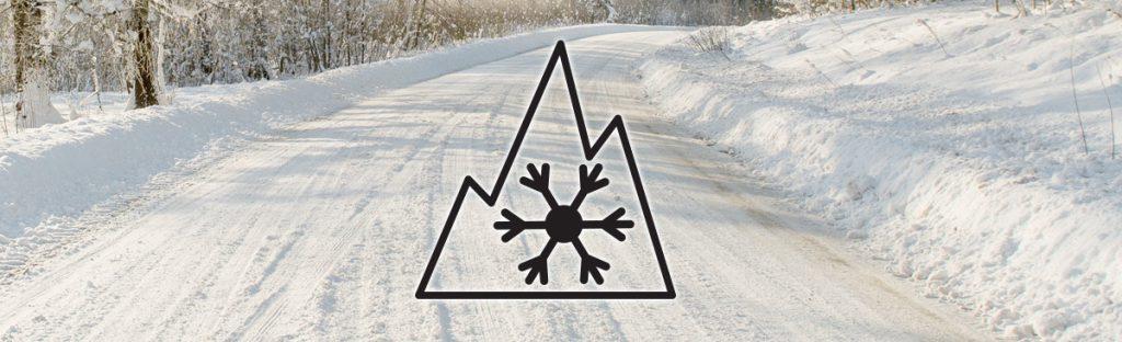 Pneumatici con marcatura fiocco di neve
